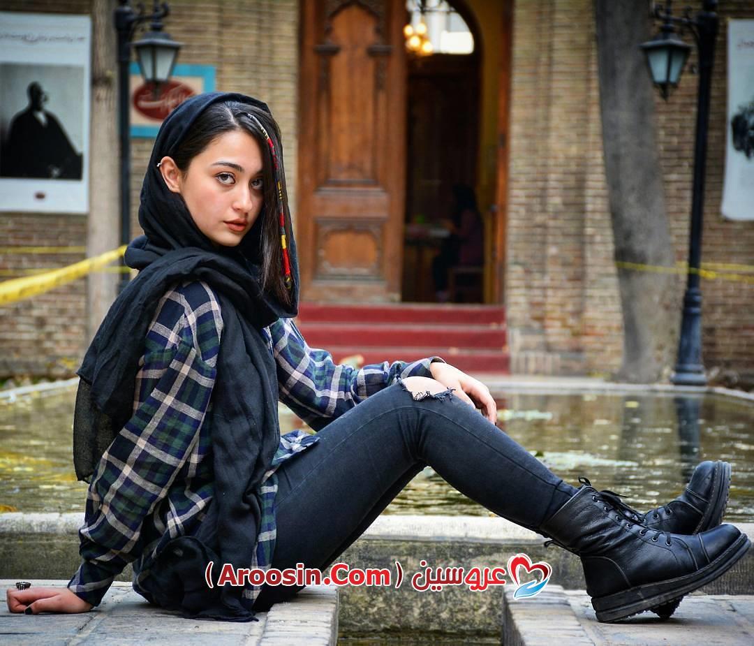 مدل ژست عکس اسپرت دخترانه ایرانی
