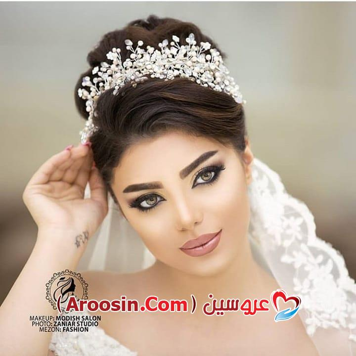 مدل تاج گل عروس اینستاگرام