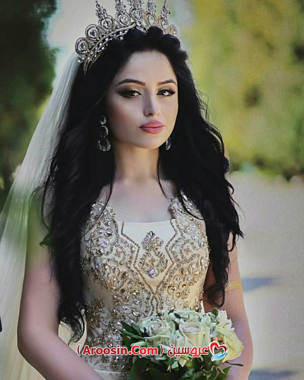 مدل موی باز با تاج مدل مو عروس با تور - آلبوم عکس عروسی